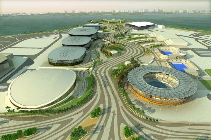 2016 Rio Olympic Park in Barra neighborhood
