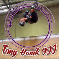 48-year-old Tony Hawk lands one last 900