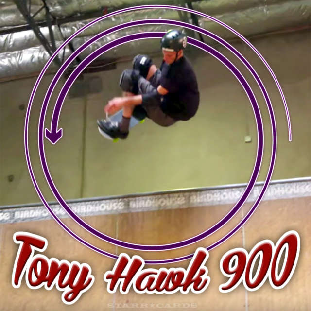 48-year-old Tony Hawk lands one last 900