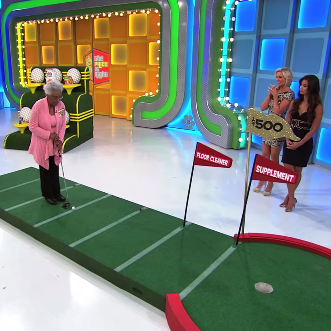 84-year-old Margaret makes hole in one (or two) on 'The Price Is Right'