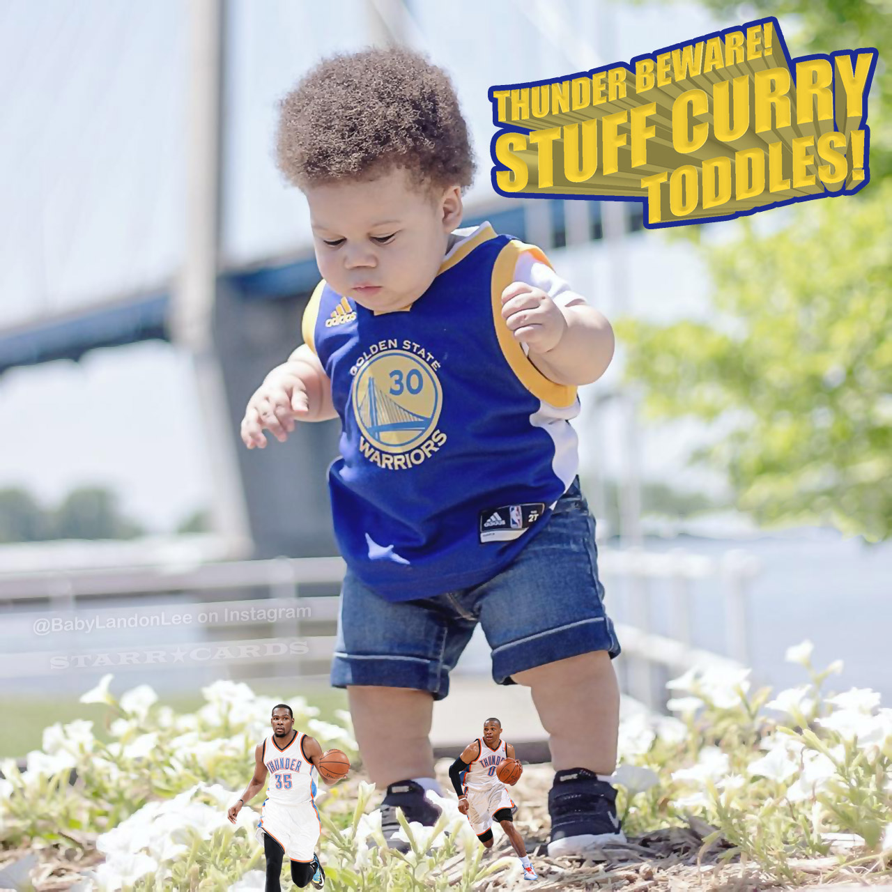the latest 372a8 e3011 Baby-cheeked Stuff Curry is a scaled-down Steph Curry