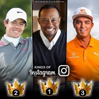 Kings of Instagram: Tiger Woods, Rory McIlroy, Rickie Fowler tops among women of golf