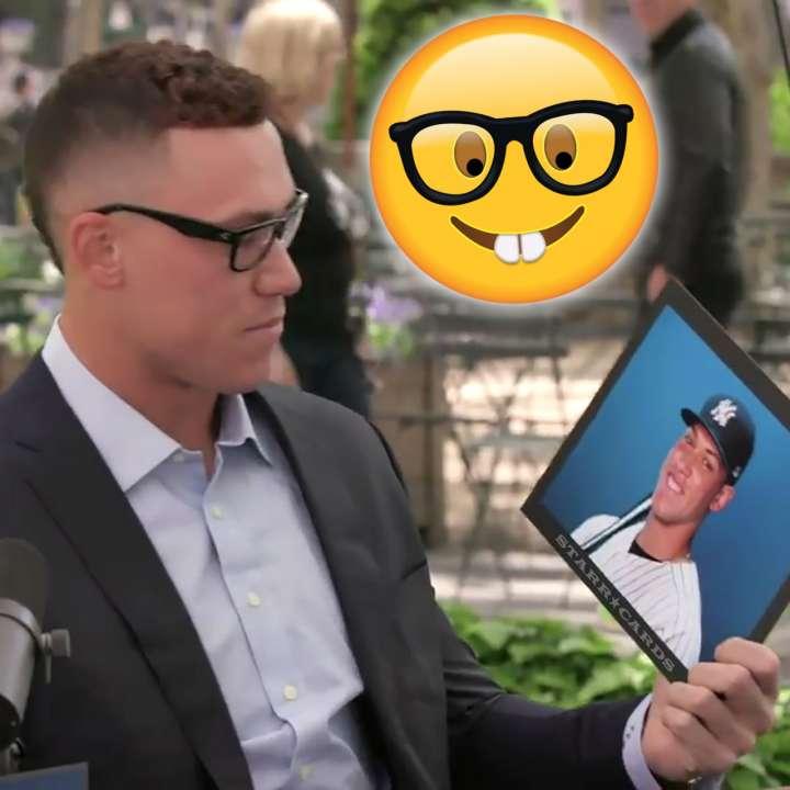 Aaron Judge contemplates Yankees star Aaron Judge