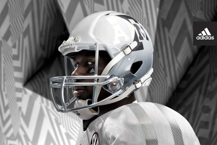 Adidas Aggies IcedOut helmet