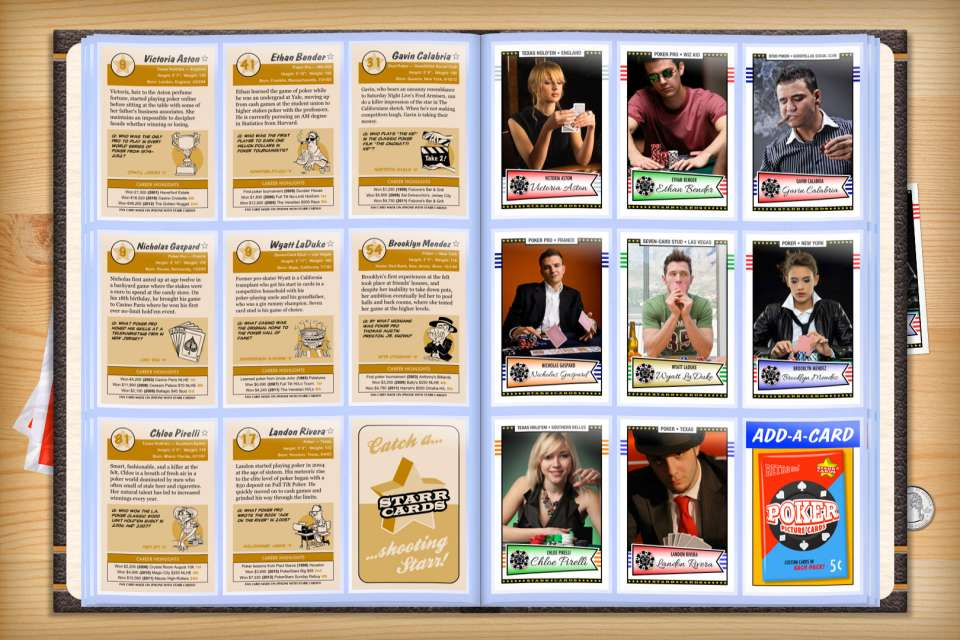 Make your own custom poker cards with Starr Cards.