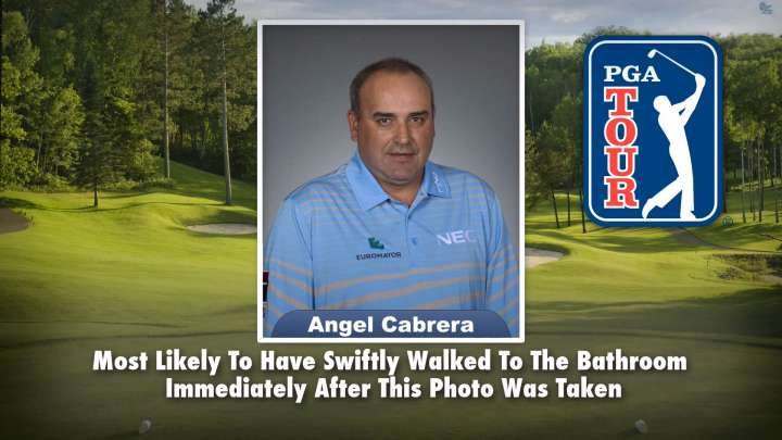 "Angel Cabrera on ""Tonight Show Superlatives"" read by Jimmy Fallon"