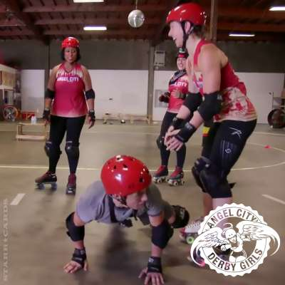 Angel City Derby Girls teach the art of roller derby