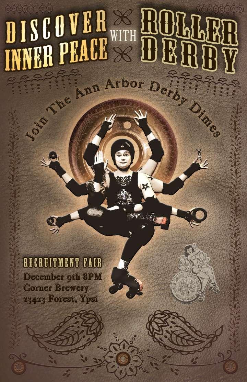 Ann Arbor Derby Dimes Poster by Samantha Degeus