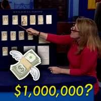 Antique Road Show's Leila Dunbar values baseball cards at $1 million