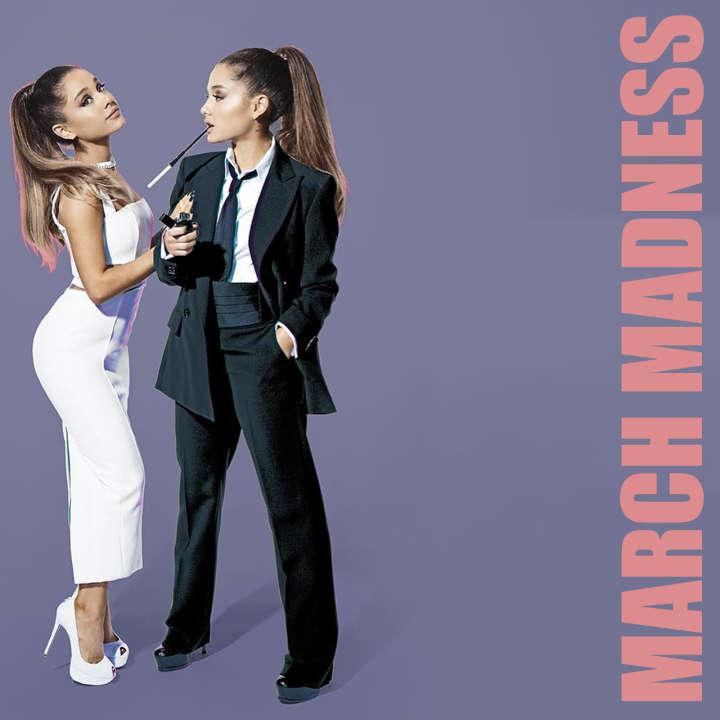 Ariana Grande explains March Madness on SNL