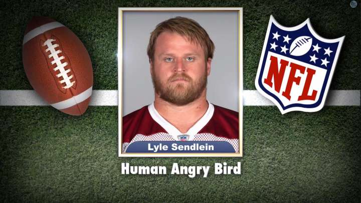 "Arizona Cardinals' Lyle Sendlein on ""Tonight Show Superlatives"" read by Jimmy Fallon"