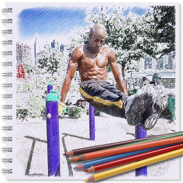 Art of Calisthenics: Darius Meeks stays in peak shape well past 50th birthday