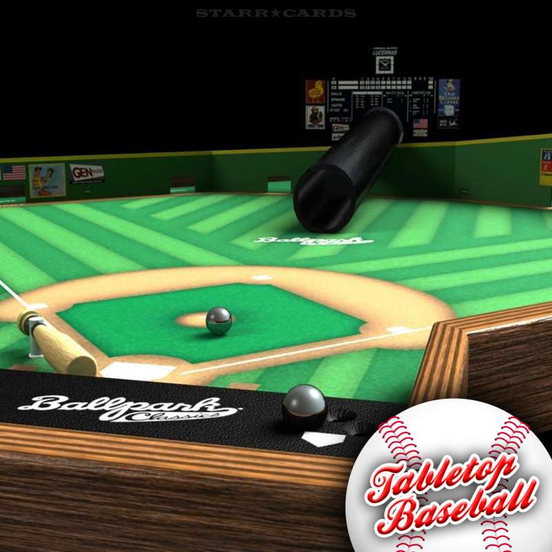Ballpark Classics tabletop baseball game from Tudor Games