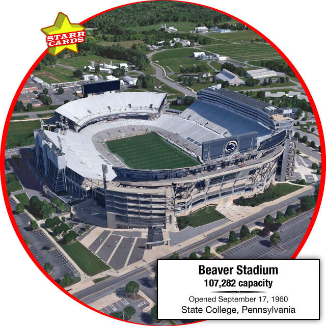 Beaver Stadium, State College, Pennsylvania: Home to the Penn State Nittany Lions
