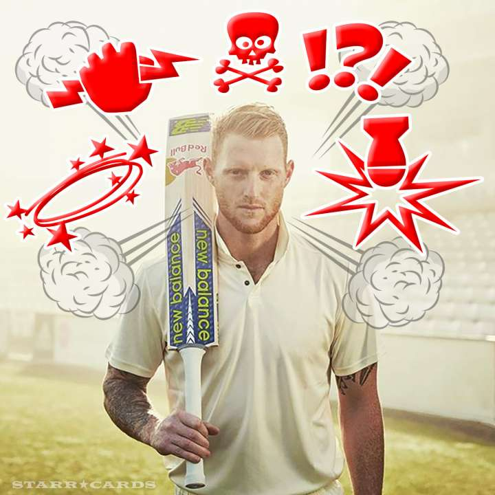 Ben Stokes drops F-bombs on the cricket pitch