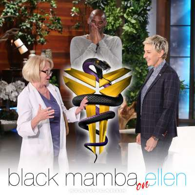 Black Mamba on Ellen: Kobe Bryant visits The Ellen DeGeneres Show
