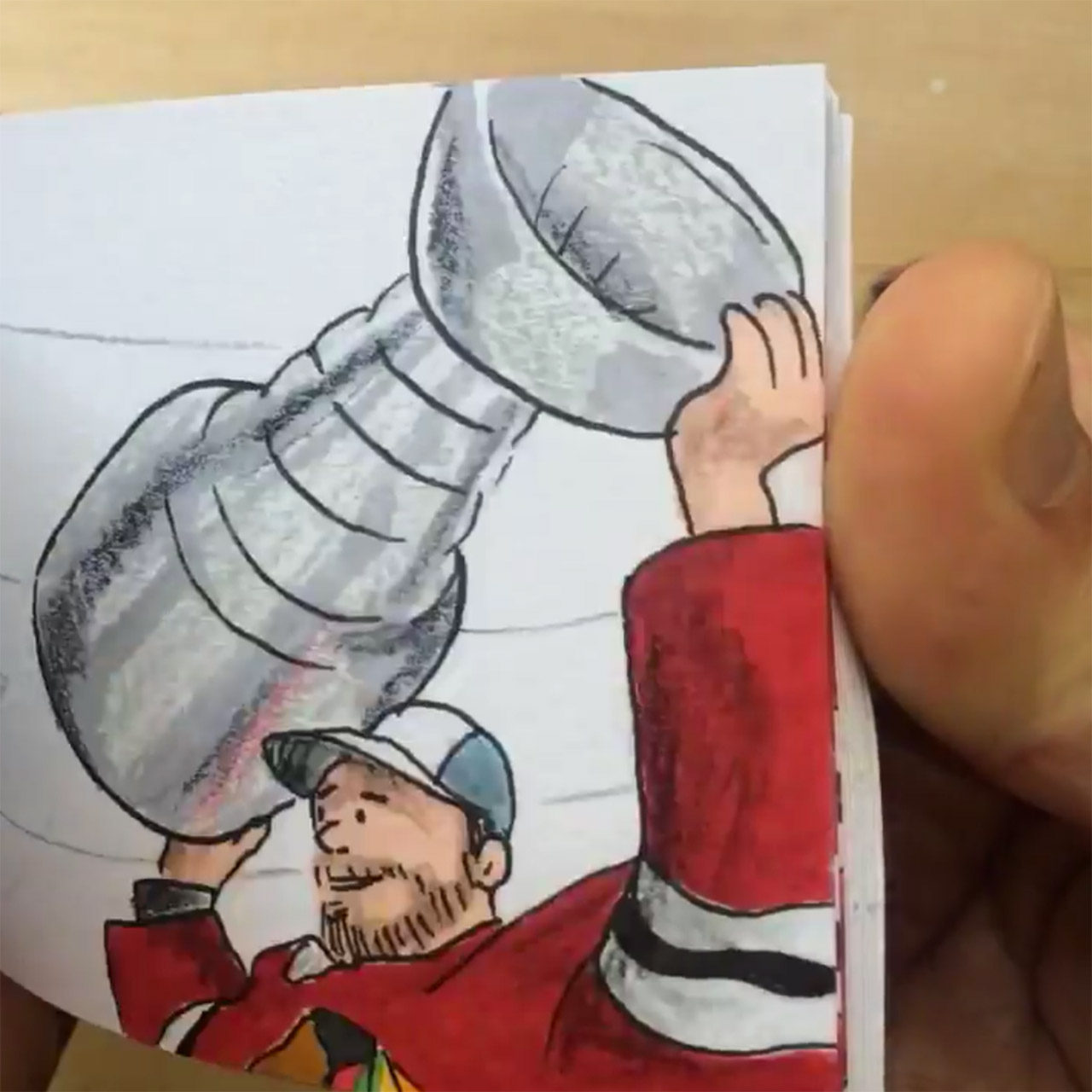 Blackhawks 2015 Stanley Cup Final flipbook animation