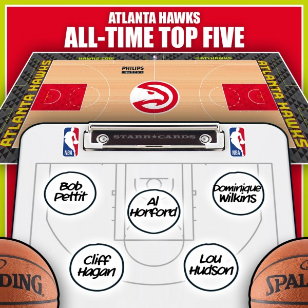 Bob Petit leads Atlanta Hawks all-time top five by Win Shares