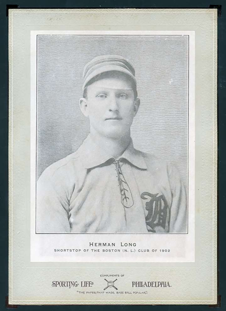 Boston Beaneaters shortstop Herman Long