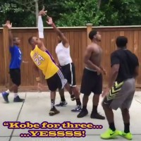 Brandon Armstrong @BdotAdot5 impersonates Kobe Bryant in Twitter video