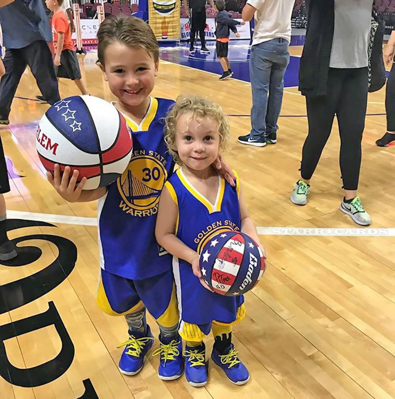 Brothers Who Ball: Valentino and Luka are big Warriors fans