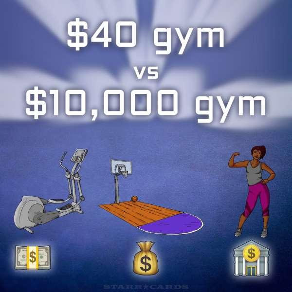 BuzzFeedBlue judges $40 gym vs $10,000 gym