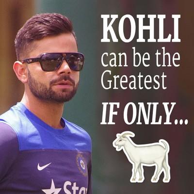 Can Virat Kohli become cricket's GOAT?