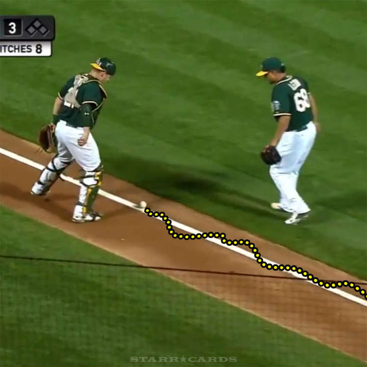 Chase Headley's bunt meandered up the third base line like a drunken pedestrian
