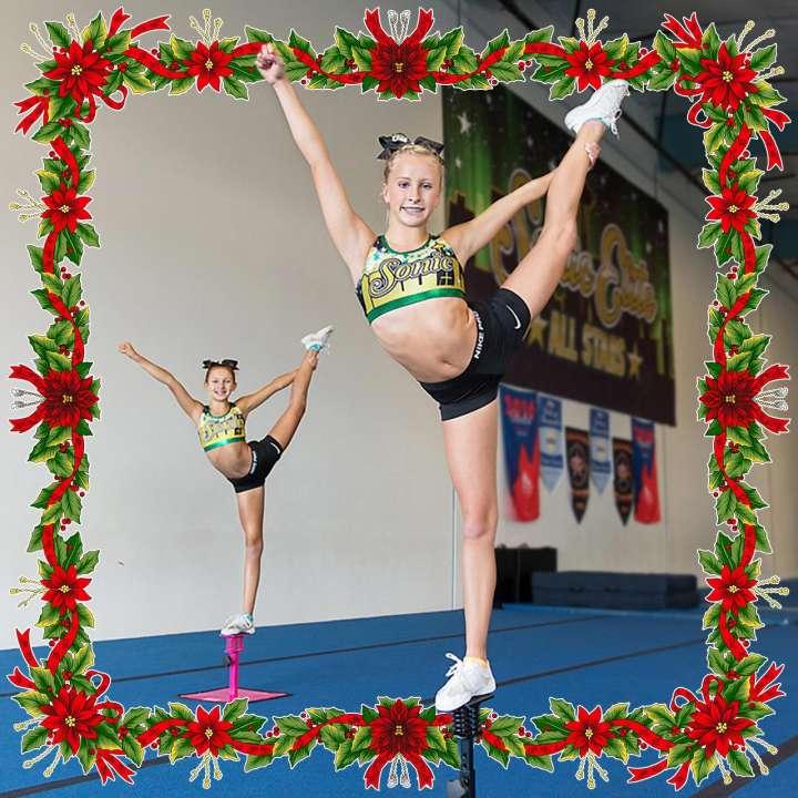 Cheerleader gift idea: Fly Right by Tumbl Trak