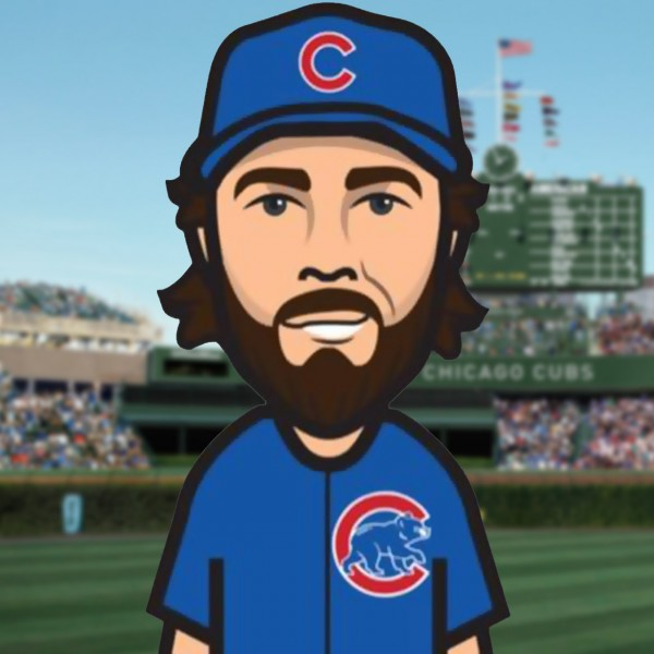 Chicago Cubs pitcher Dan Haren