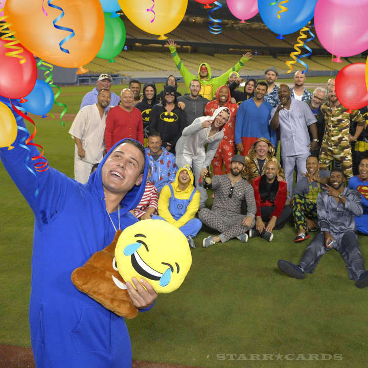 Chicago Cubs throw a pajama party after Jake Arrieta's no hitter in LA
