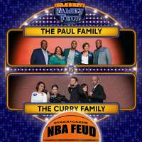 Chris Paul Family vs Steph Curry Family on 'Celebrity Family Feud'