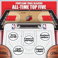 Clyde Drexler leads Portland Trail Blazers all-time top five by Win Shares