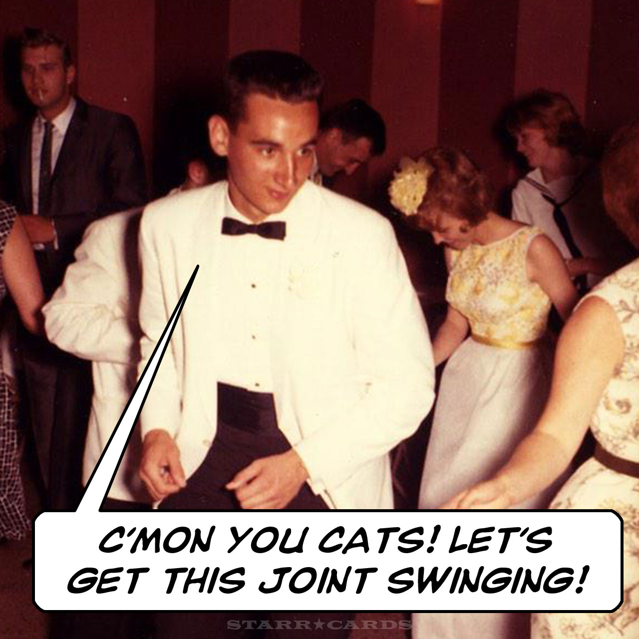 Blue Devils legend Coach K dancing the night away in his college years