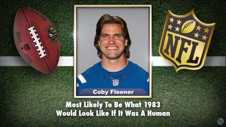Colts' Coby Fleener makes the list on Tonight Show Superlatives