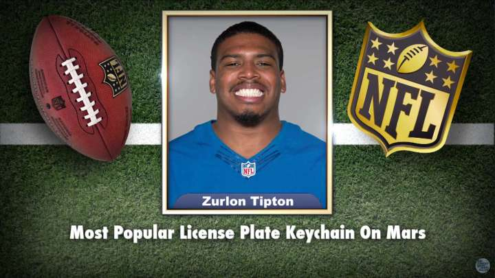 Colts' Zurlon Tipton makes the list on Tonight Show Superlatives