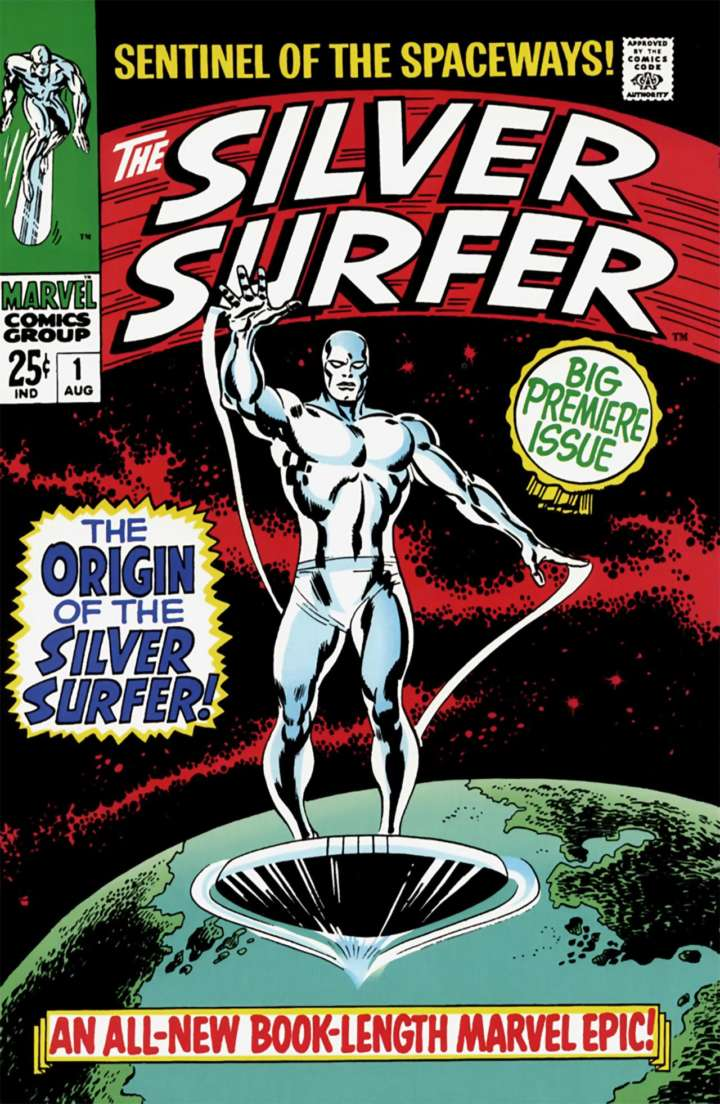Cover of Silver Surfer Number 1 from Marvel Comics Group