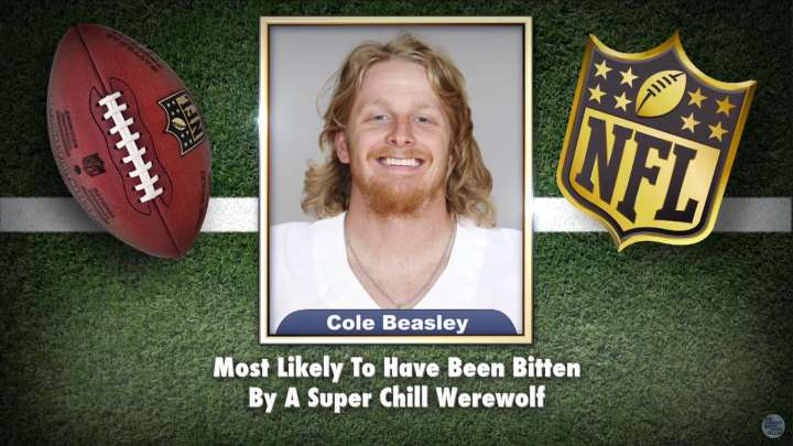 Cowboys' Cole Beasley appears on Tonight Show Superlatives