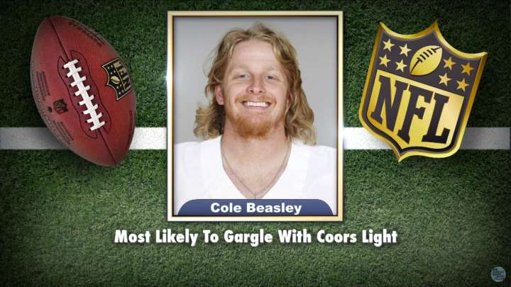 Cowboy's Cole Beasley featured on Tonight Show Superlatives