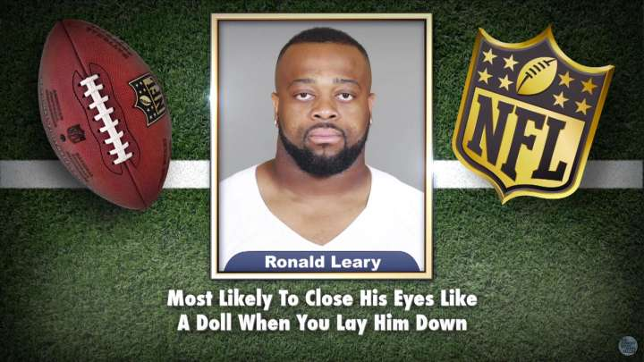 Cowboys' Ronald Leary appears on Tonight Show Superlatives