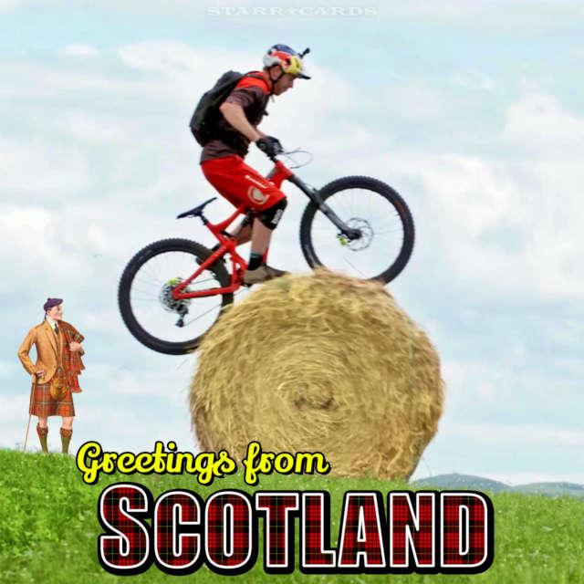 Danny MacAskill sends Greetings From Scotland