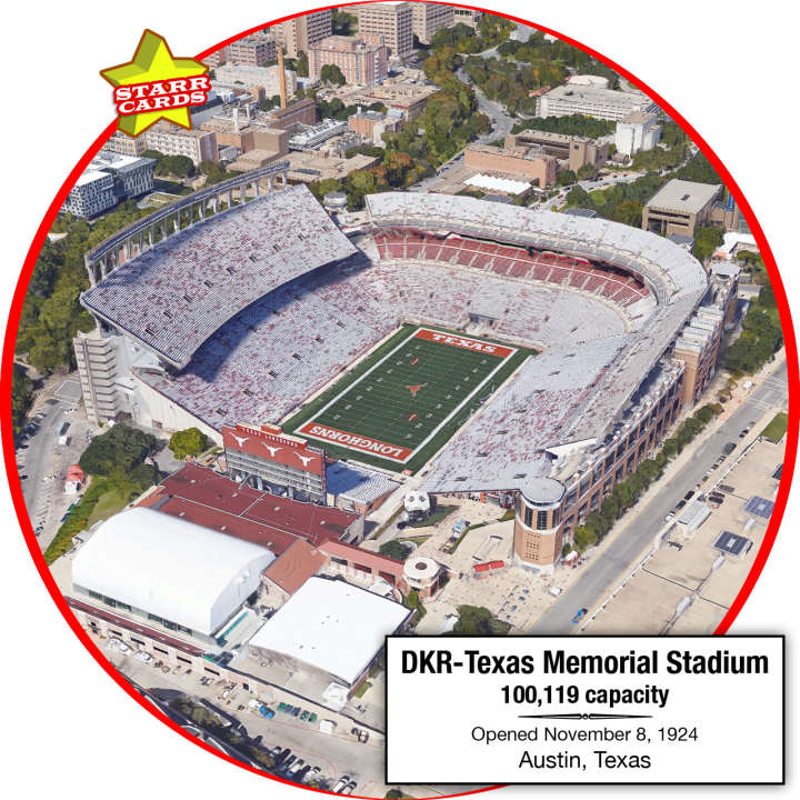 Darrell K Royal–Texas Memorial Stadium, Austin, Texas: Home to the Texas Longhorns
