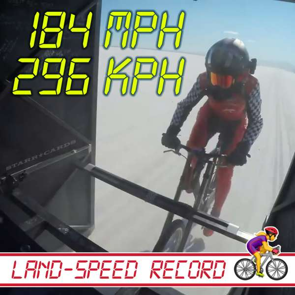 Denise Mueller-Korenek sets bicycle land-speed record at 184 mph