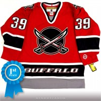 Dominic Hasek Buffalo Sabres 2000 Alternate red Koho jersey