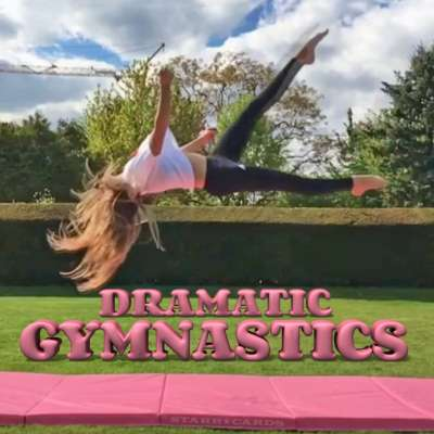 Dramatic gymnastics scored with rockin' tracks