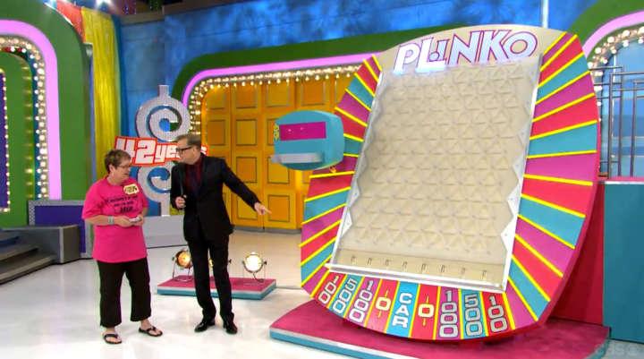 Drew Carey explains plinko game on 'The Price Is Right'