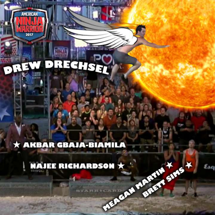 Drew Drechsel dares to fly close to the sun during ANW All Star Skills Challenge