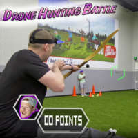 Drone hunting battle with Dude Perfect