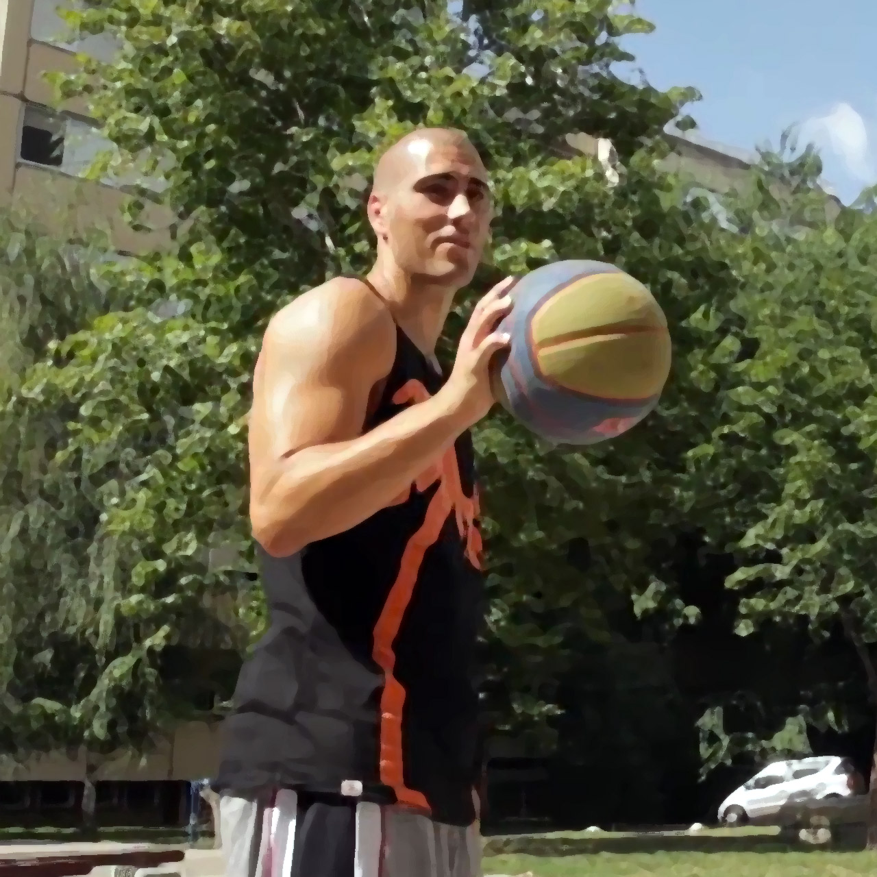 Dusan Domovic Bulut Leads World S Best 3x3 Basketball Team