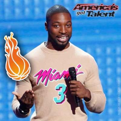 Dwyane Wade look alike Preacher Lawson entertains on 'America's Got Talent'